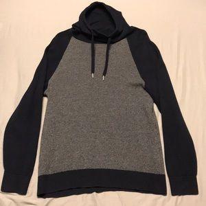 Navy Blue Express turtleneck sweater